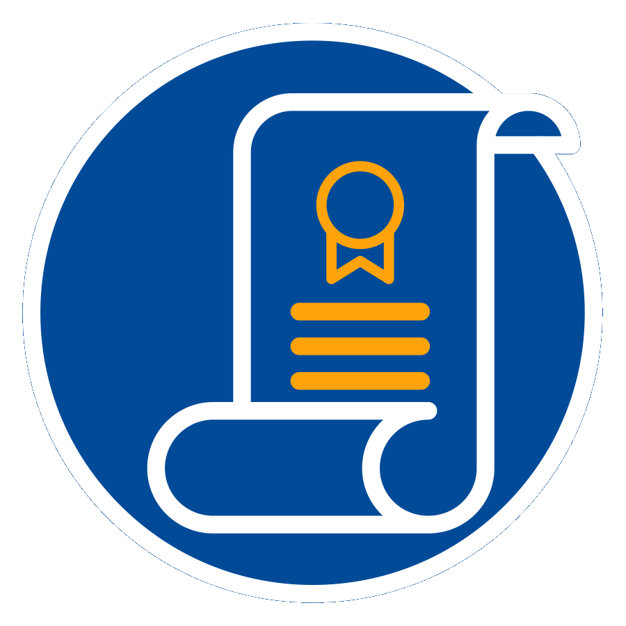 certificado icono
