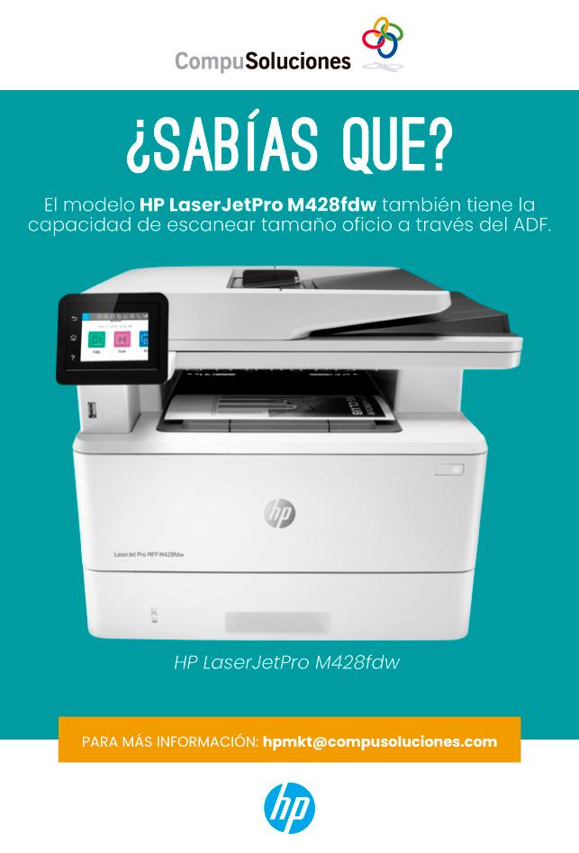 Beneficios Impresora M428fdw