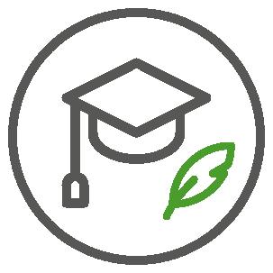 icono graduado