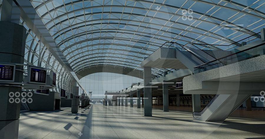 aeropuerto con diseño sustentable